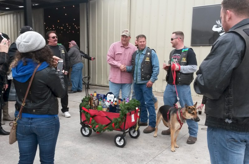 Liquor Wagon Raffle – December 2014 | San Jacinto High Rollers MC - Katy Chapter