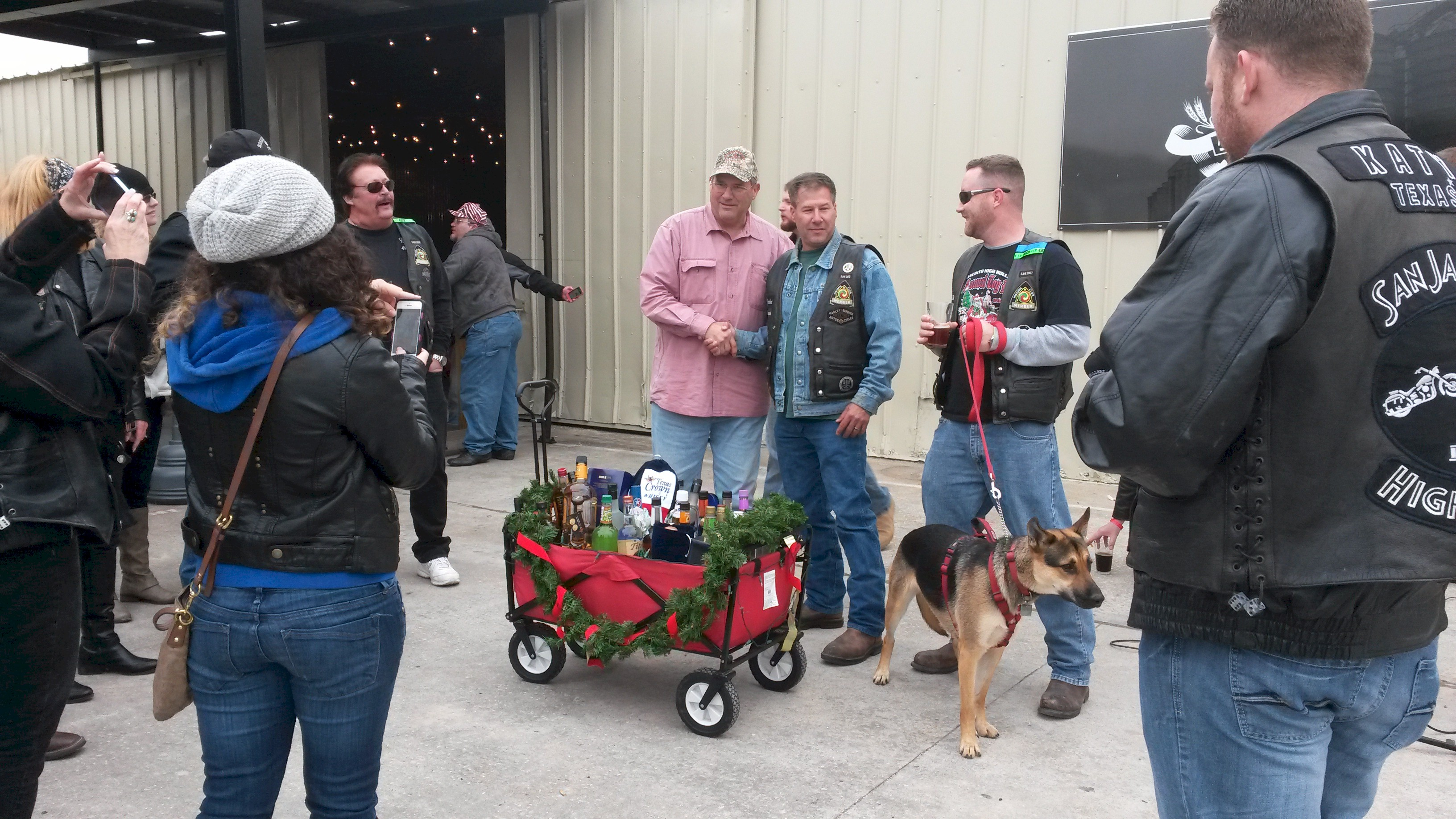 Liquor Wagon Raffle – December 2014 | San Jacinto High Rollers MC - Katy Chapter