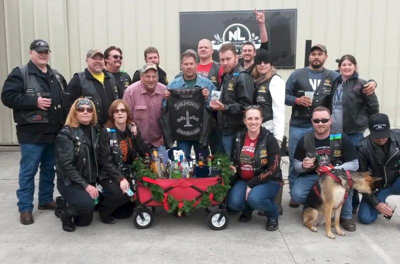SJHRMC Liquor Wagon Raffle – December 2014   San Jacinto High Rollers MC - Katy Chapter