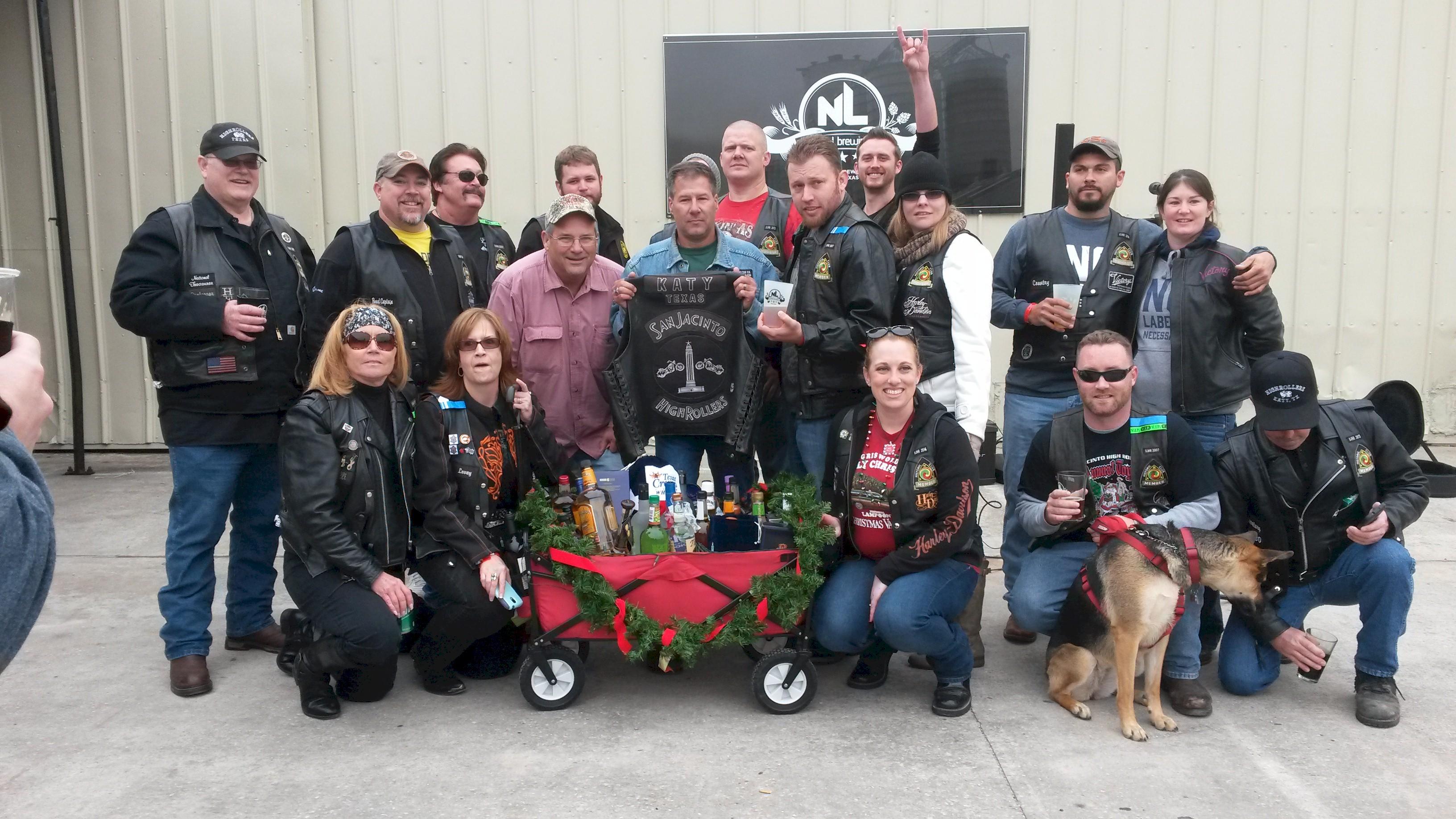 SJHRMC Liquor Wagon Raffle – December 2014 | San Jacinto High Rollers MC - Katy Chapter