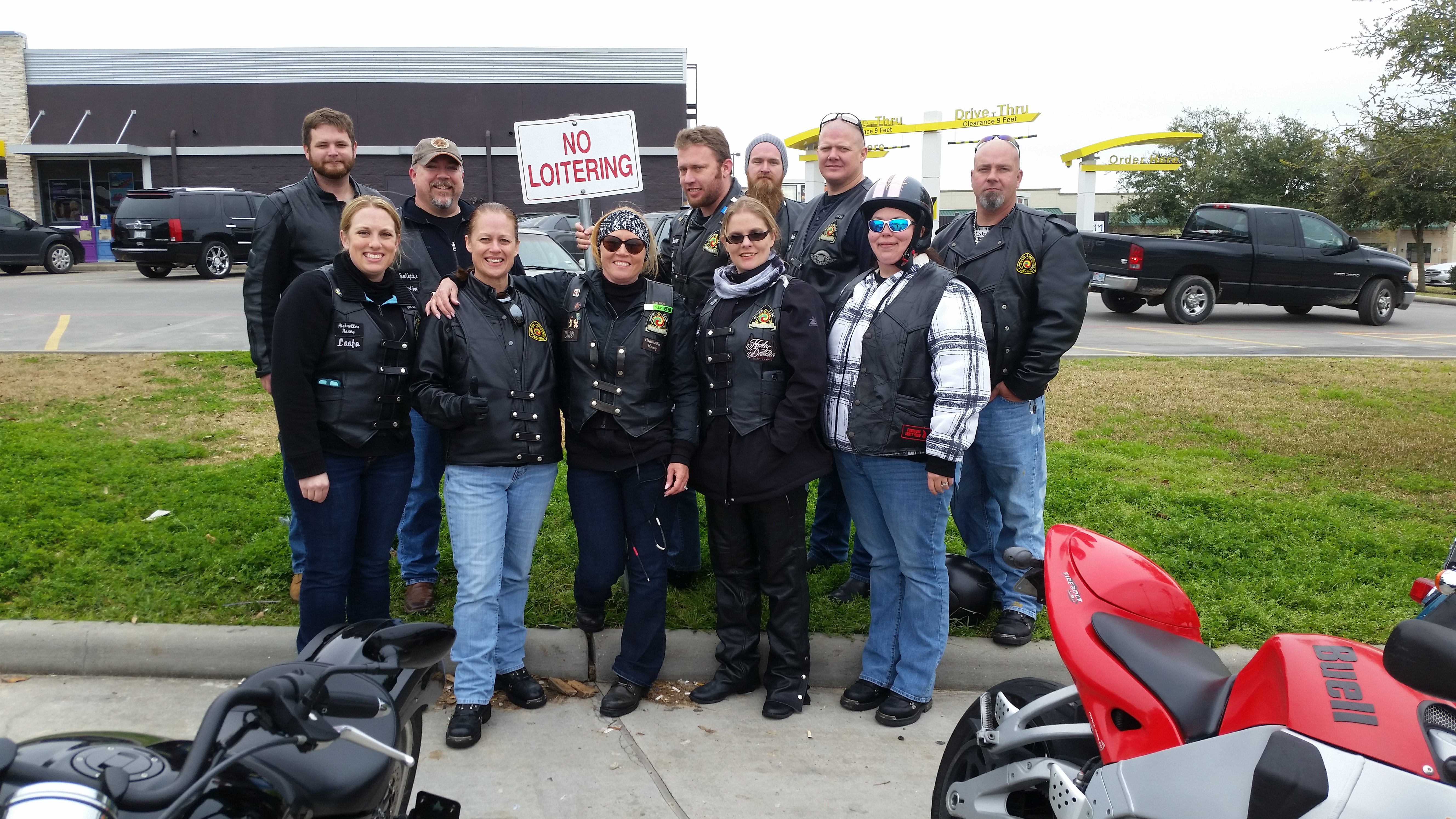 Sunday Funday Yankee's Tavern Ride – March 2015 | San Jacinto High Rollers MC - Katy Chapter