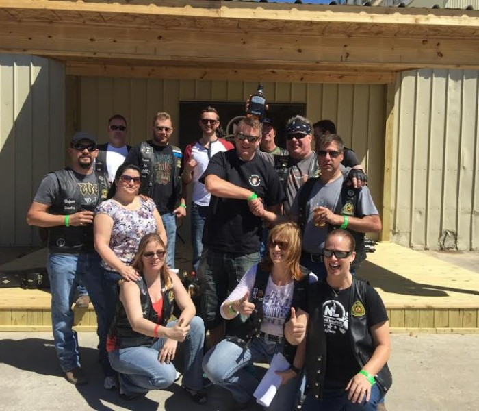 Liquor Wagon Raffle – March 2015   San Jacinto High Rollers MC - Katy Chapter