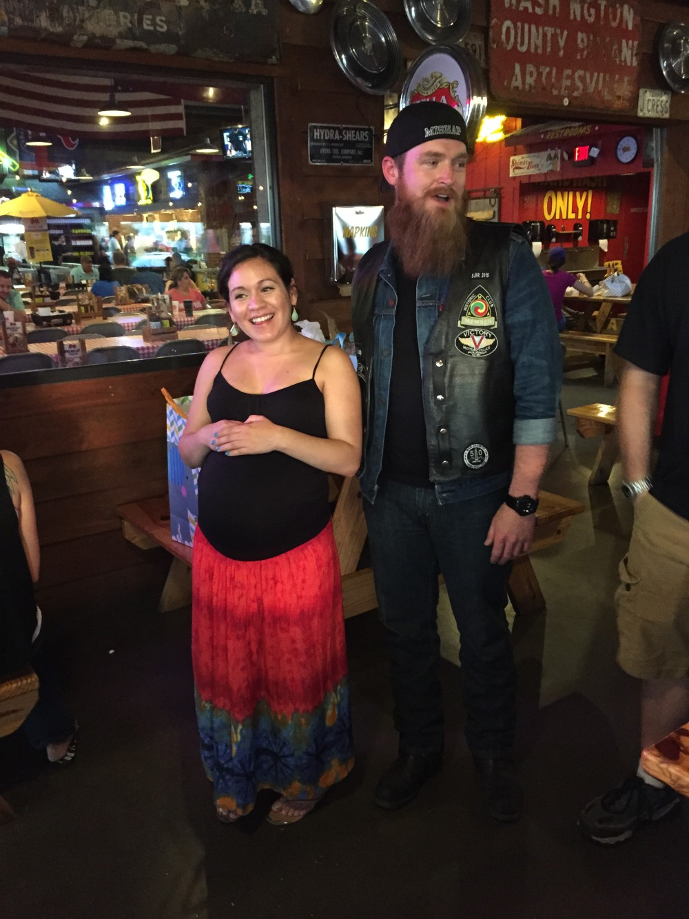 Mishap Baby Shower Dinner – May 2015 | San Jacinto High Rollers MC - Katy Chapter