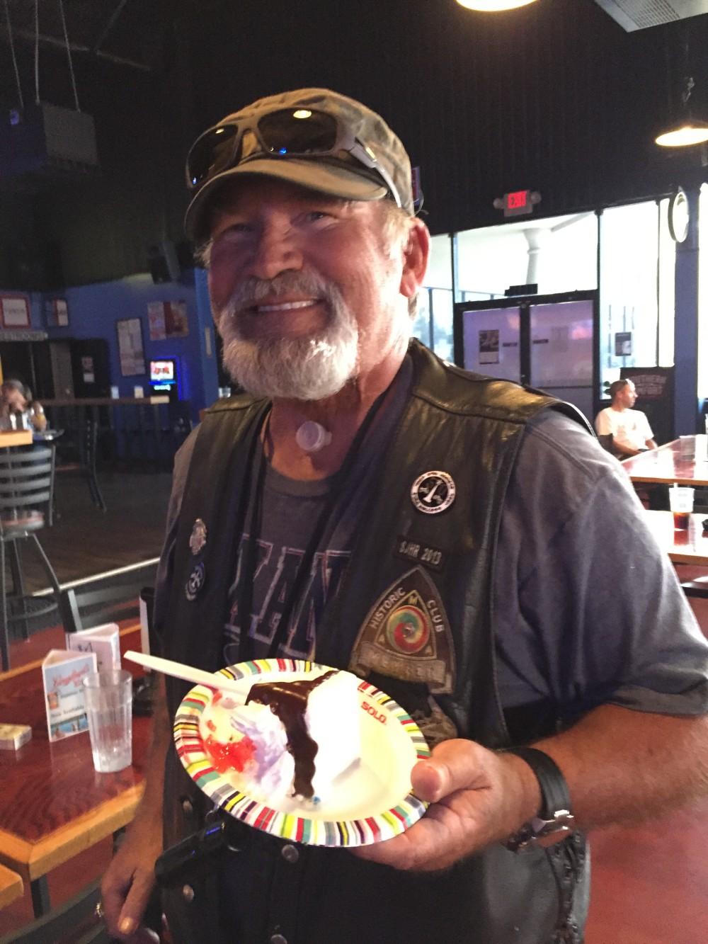 Professor's Birthday – June 2015   San Jacinto High Rollers MC - Katy Chapter