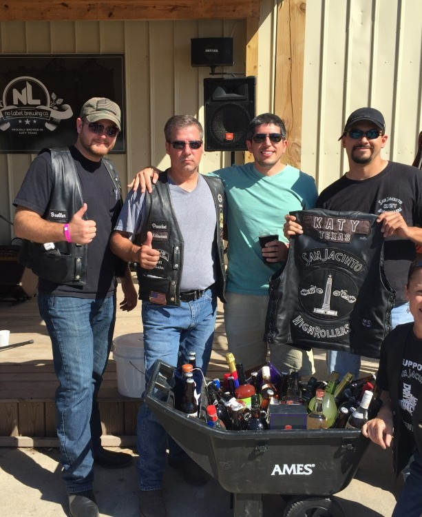 SJHRMC Katy Fall Fling  Liquor Wagon Raffle – October 2015 | San Jacinto High Rollers MC - Katy Texas Chapter