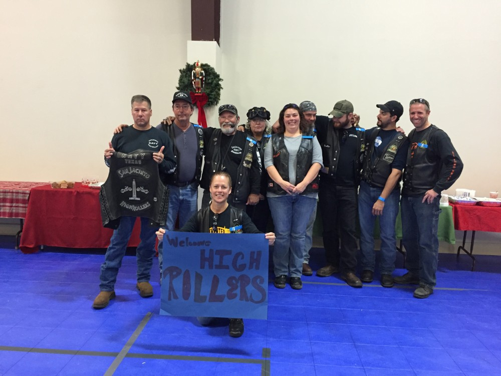 SJHRMC Northwest Houston Chapter Toy Run – December 2015 by San Jacinto High Rollers MC - Katy Texas Chapter