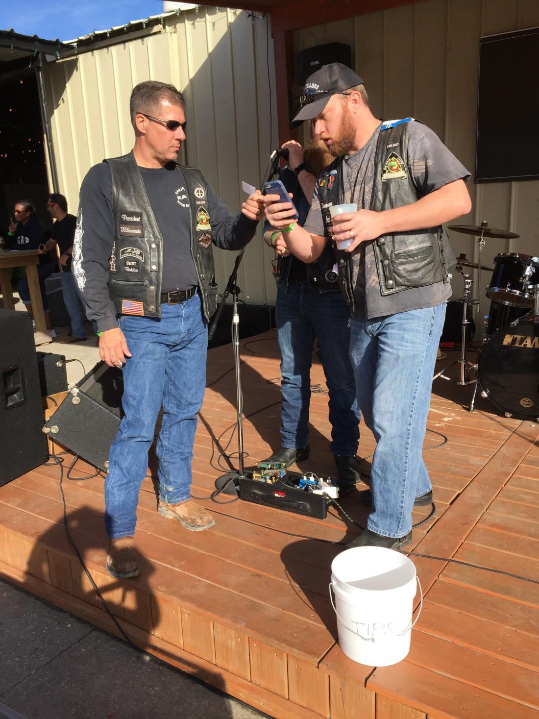 SJHRMC Holiday Liquor Wagon – December 2015 by San Jacinto High Rollers MC - Katy Texas Chapter