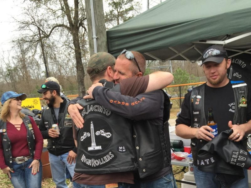 SJHRMC Cheers Patch In – February 2016 by San Jacinto High Rollers MC - Katy Texas Chapter