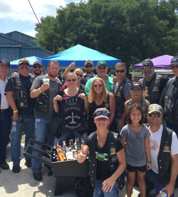 SJHRMC Katy Liquor Wagon Raffle – May 2016 by San Jacinto High Rollers MC - Katy Texas Chapter