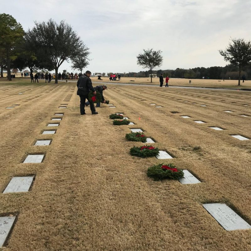 SJHRMC Wreaths Across America ~ Gypsy Toy Run – December 2017
